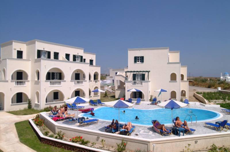 Appartementen Golden Sun - Kamari - Santorini